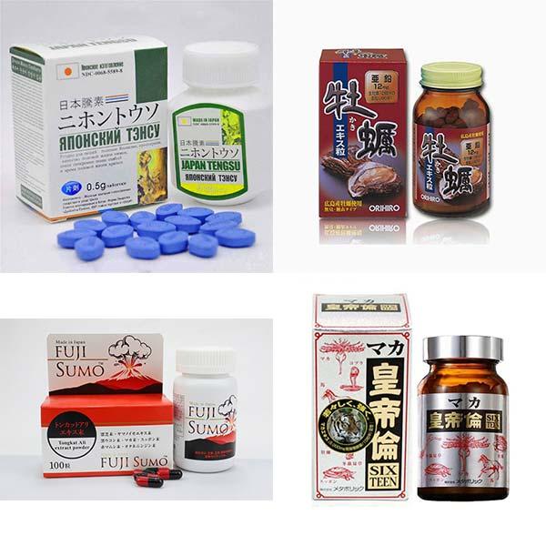 Thuốc tăng kích thước dương vật Nhật Bản