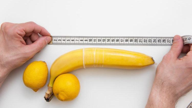 Kích thước dương vật các độ tuổi