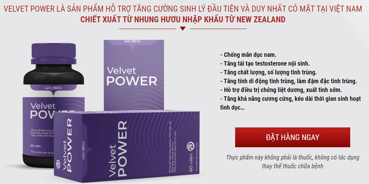 Velvet power